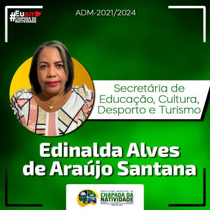 EDNALDA ALVES DE ARAÚJO SANTANA