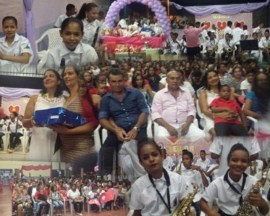 Dia 13 de Maio de 2017 Chapada da Natividade comemorou o dia das mães! Com festa e presentes