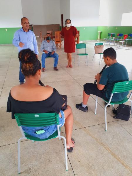 Banda Nossa Senhora de Santana- Centro de evento-
