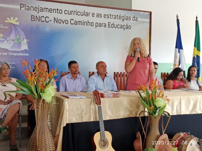 Início da Formação continuada de profissionais da Educação
