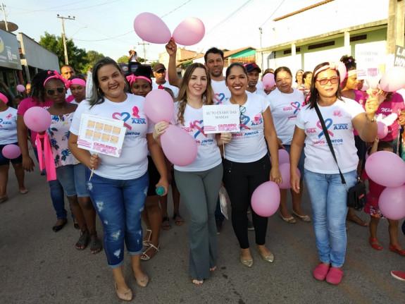 OUTUBRO ROSA EM CHAPADA DA NATIVIDADE-TO
