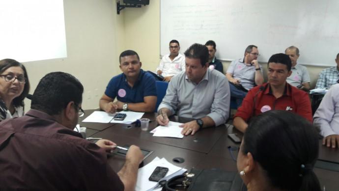 Reunião da CIB em Palmas Com apoio do Prefeito Joaquim, onde foi apresentado a implantação do NASF